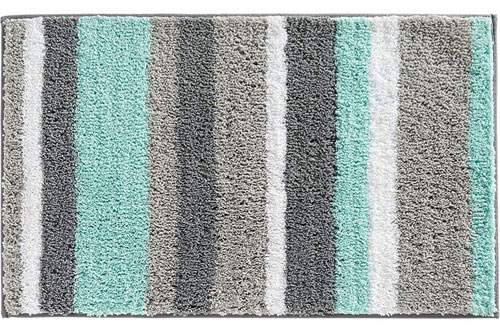 HEBE Non-Slip Bathroom Microfiber Shower Bath Rug