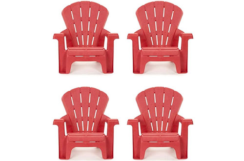 Little Tikes Red Garden Chair 4-Pack