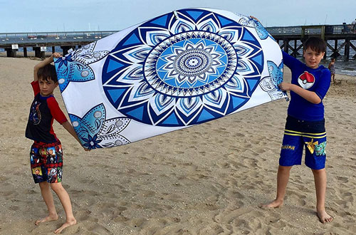 Elite Trend Microfiber Oversized Beach Towel for Travel