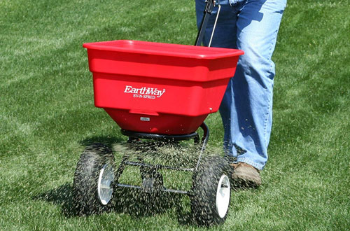 Earthway 2170 Commercial Push Broadcast Spreader