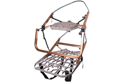 Lone Wolf Wide Flip-Top Climber Climbing Tree Stand