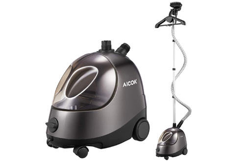 AICOK 1500W Portable Steamer for Clothes and Garment