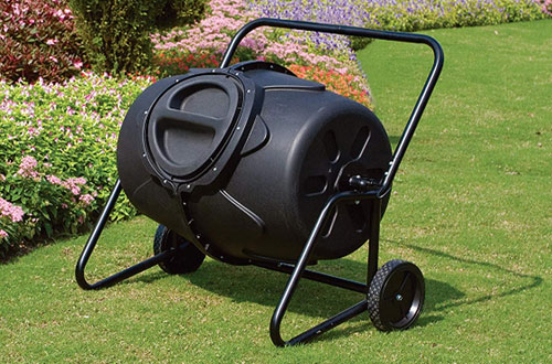 Kotulas 50-Gallon Wheeled Compost Tumbler