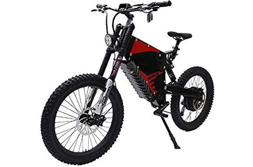 HalloMotor 72V 3000W FC-1 Powerful Electric Mountain Bicycle
