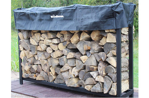 Woodhaven 6ft Firewood Rack