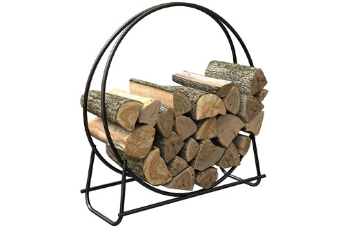 "Panacea 15209 40"" Tubular Steel Log Hoop"