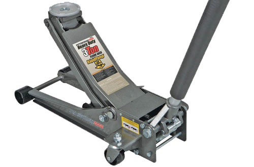 Pittsburgh Automotive 3-Ton Low Profile Floor Jack with Rapid Pump