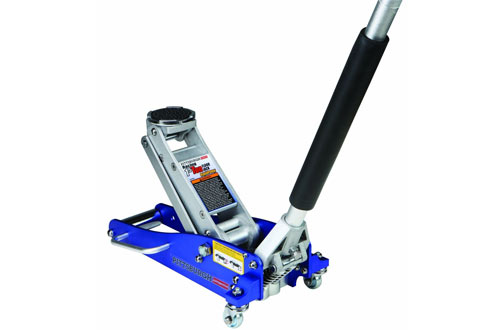 1.5 Ton Compact Aluminum Floor Jack with Rapid Pump