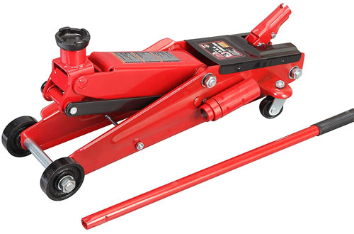 Torin Big Red 3-Ton Hydraulic Trolley Floor Jack for SUV