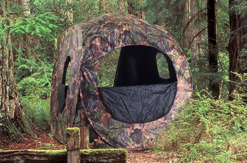 Tangkula Portable Hunting Tent Pop-up GroundBlind
