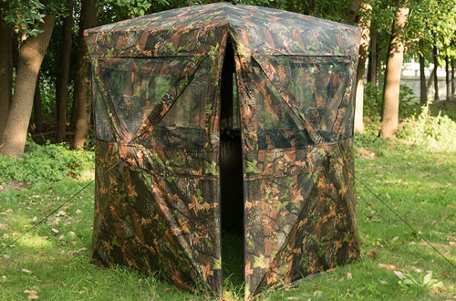 Vulture Pop-up Portable 2-4 Person Ground Hunting Blind
