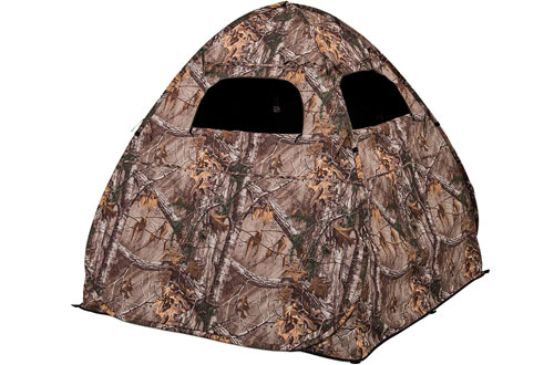 Ameristep Gunner Realtree Camo Hunting Ground Blind