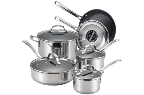 Circulon Genesis Stainless Steel Nonstick Cookware Set