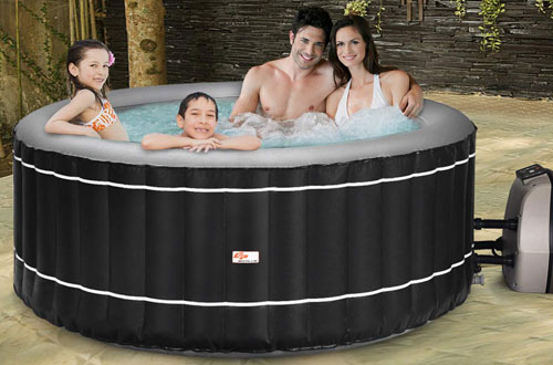 Goplus Portable 6 Person Inflatable Hot Tub