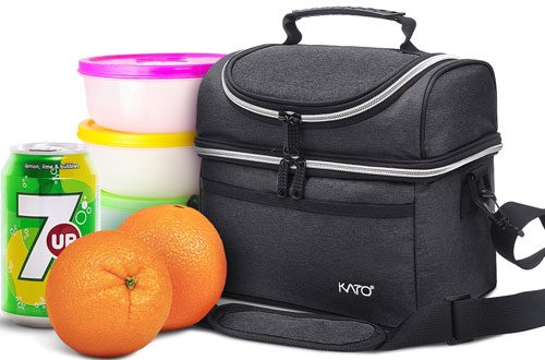 Kato Best Leakproof Thermal Insulated Lunch Bag for Women and Men