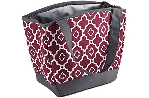 Fit and Fresh Women's Lunch Bag - Cooler Bag for Work & On-The-Go