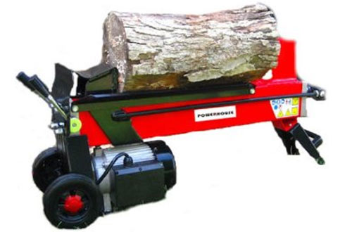Powerhouse XM-380 Homemade Electric Hydraulic Log Splitter - 7-Ton
