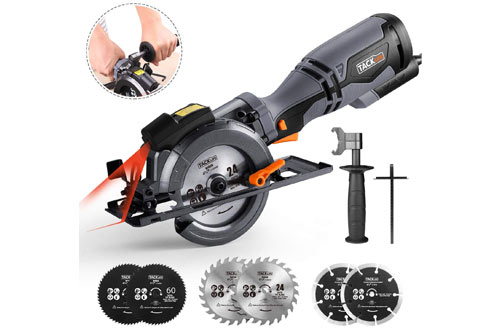 TACKLIFE Compact Circular Saw with Metal Handle