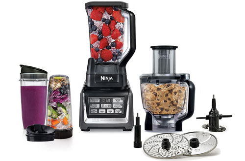 Nutri Ninja Blender 1200 Watts Blending and Food Processing
