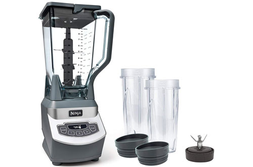 Ninja Professional Blender with Cups & Pitcher for Frozen Drinks and Smoothies