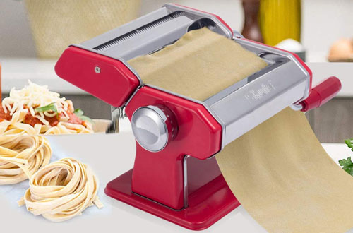 Shule Stainless Steel Adjustable Pasta Maker Machine - Pasta Roller