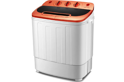 Portable Mini Compact Twin Tub Washing Machine and Spin Dryer