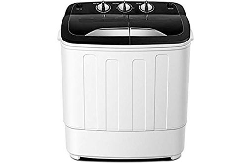ThinkGizmos TG23 Portable Washing Machine - Twin Tub Washer Machine with Spin