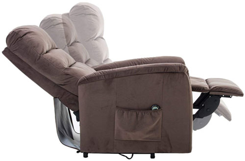 BONZY Soft Lift Recliner Contemporary Power Lift Chair for Gentle Motor