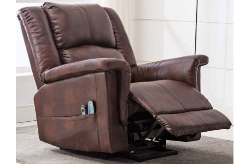 ComHoma Massage Heated Electric Lounge Power Lift Recliner Chair Massage