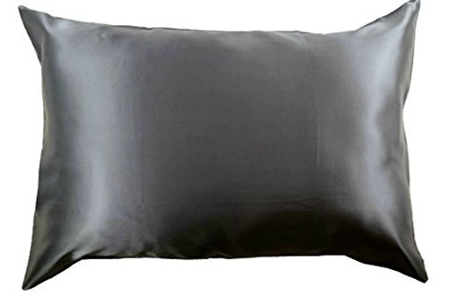 Celestial Silk 100 Percent Silk Pillowcase for Hair on Sides of Cover