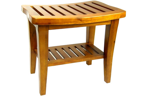 Redmond Collection Teak Bench for Shower