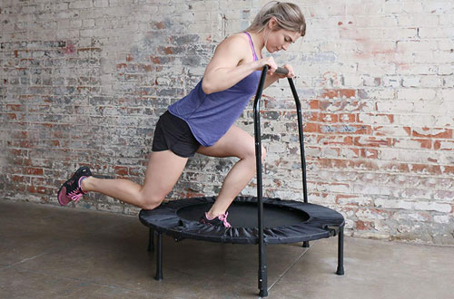 Marcy Indoor Exercise Trampoline with Handle ASG-40