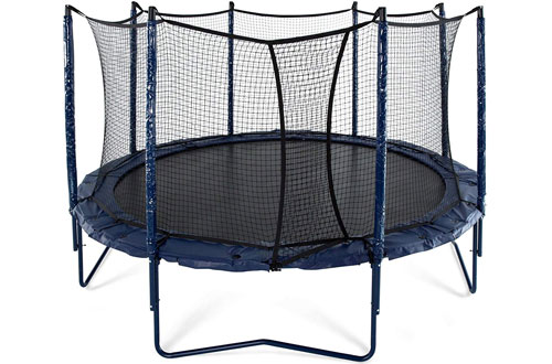 JumpSport 14-Inch Elite PowerBounce In Ground Trampoline