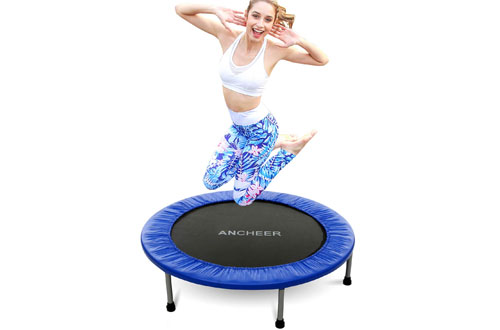 ANCHEER Mini Trampoline with Safety Pad  for Kids and Adults