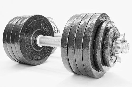 Omnie Adjustable Dumbbells for Weightlifting and Bodybuilding
