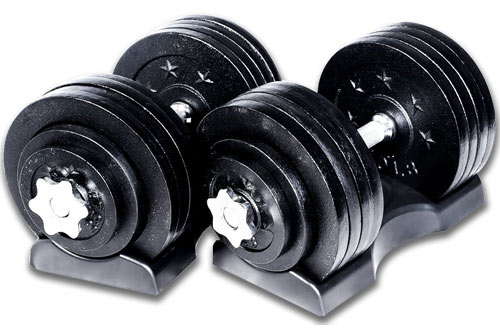 Ringstar Starring 65 105 200 Lbs Adjustable Dumbbells