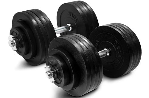Yes4All Adjustable Weight Dumbbells 40, 50, 52.5, 60, 105 to 200lbs