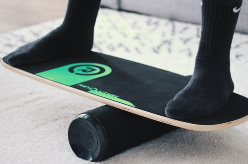 Revolution 101 Green Balance Board Trainer