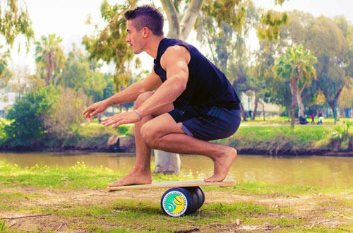 INDO BOARD Original Training Balance Board for Fitness Training