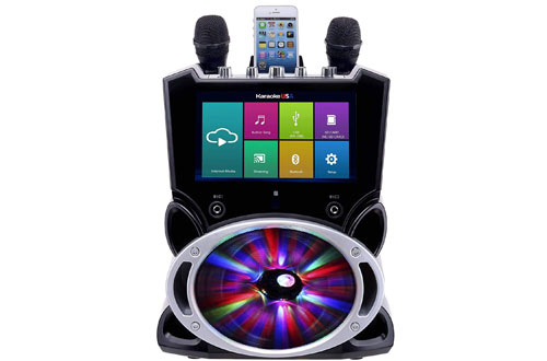 Karaoke USA Complete All-In-One Wi-Fi Multimedia Karaoke Machine