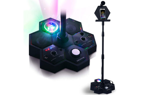 Singsation All-In-One Karaoke System with Bluetooth Microphone