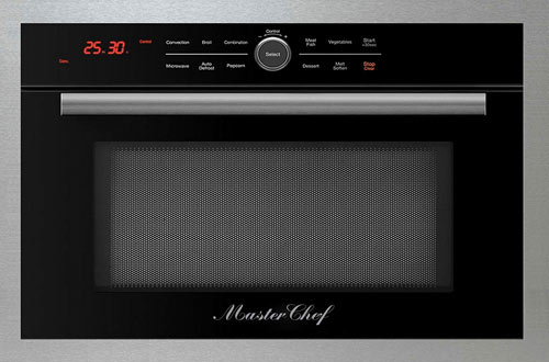 """Master Chef, 5 Ovens in 1 24"""" Built-In Convection Microwave"""