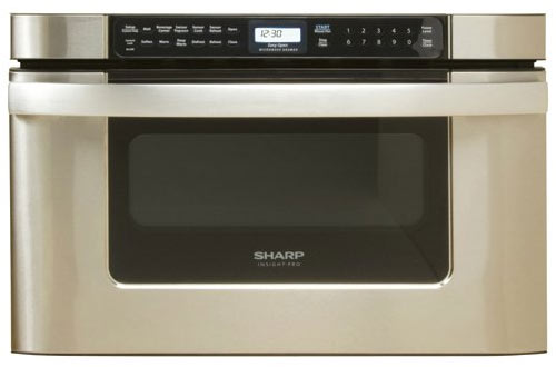 """Sharp KB-6524PS 24"""" Stainless steelMicrowave Drawer Oven"""