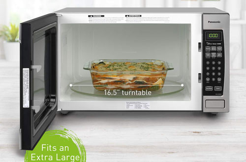 PanasonicNN-SN966S Stainless Steel Countertop/Built-InMicrowave Oven with Inverter