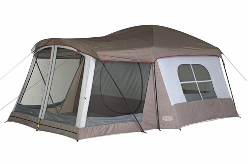 Wenzel 8-Person Klondike Family Tent with Screen Room