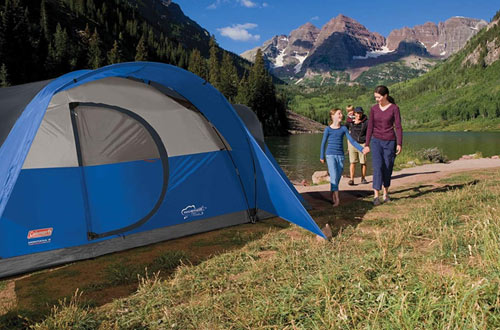 Coleman Montana 8-Person Luxury Camping Tent