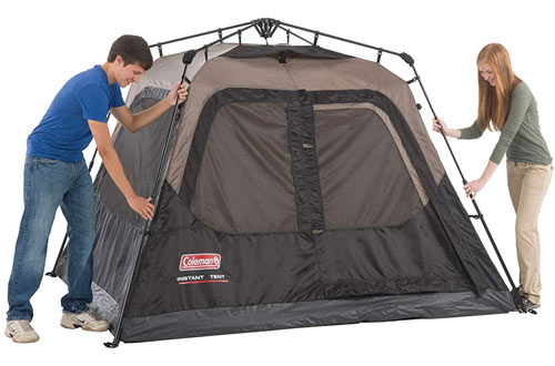 Coleman Cabin Tent for Camping with Instant Setup