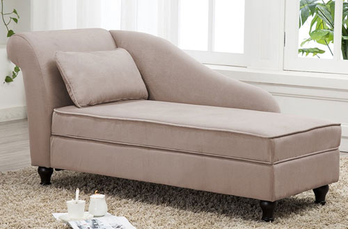 Tongli Chaise Lounge Sofa Chair Couch for Bedroom