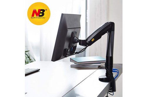 NB North Bayou Monitor Desk Mount Stand Full Motion Swivel Monitor Arm