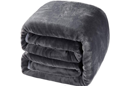 Balichun Luxury 330 GSM Fleece Super Soft Blanket